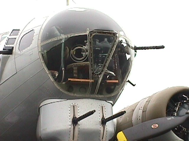 B-17 Nose Compartment