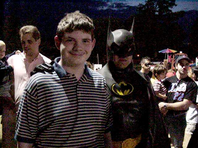 Christopher and Batman